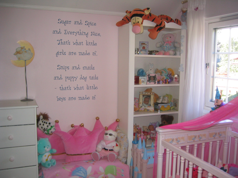 baby girl room decor ideas - Baby Girl Bedroom Decorating Ideas