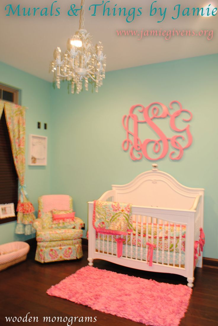 Baby girl room decor ideas for Ideas for decorating baby room
