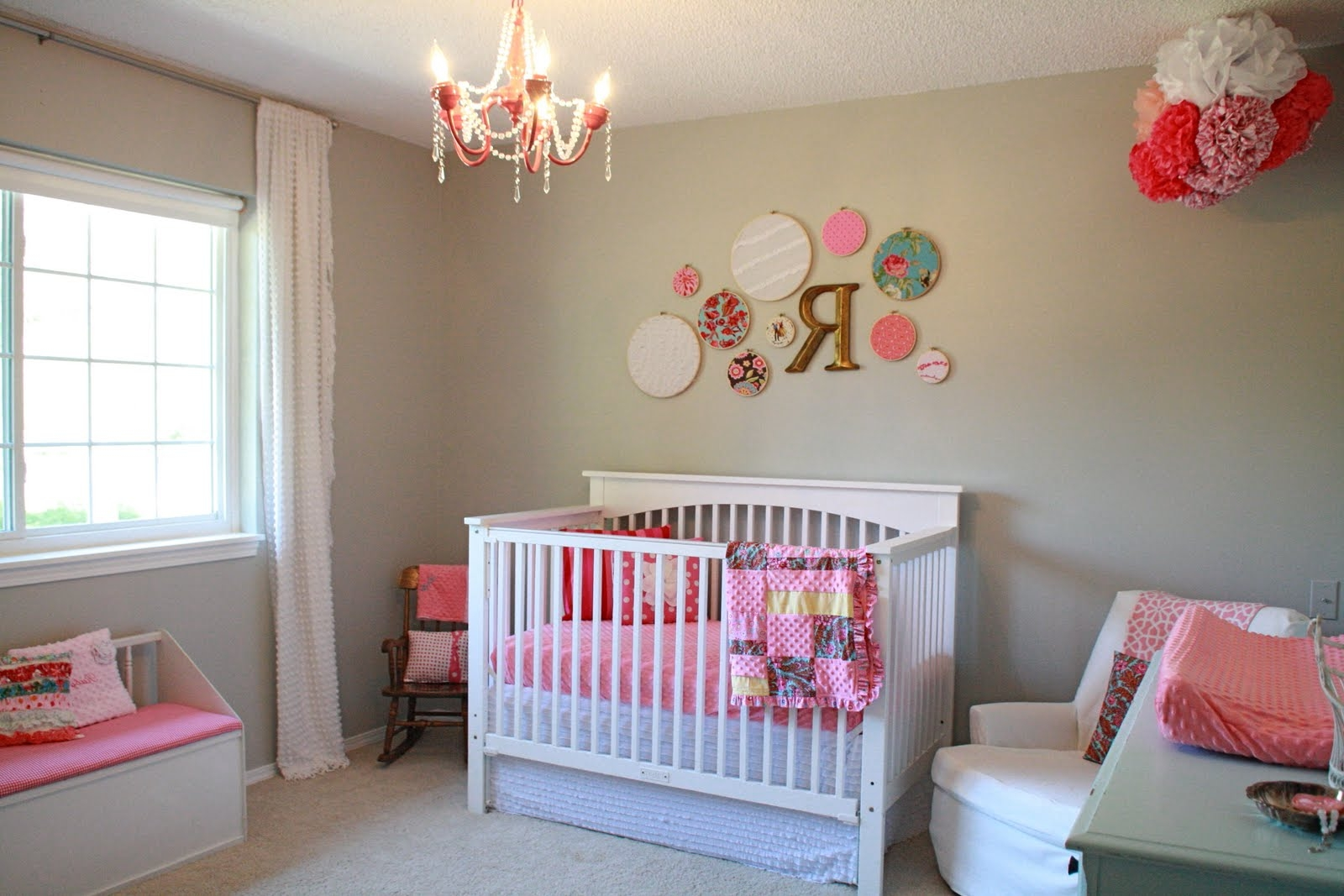 Baby girl room decor ideas Baby girl decorating room