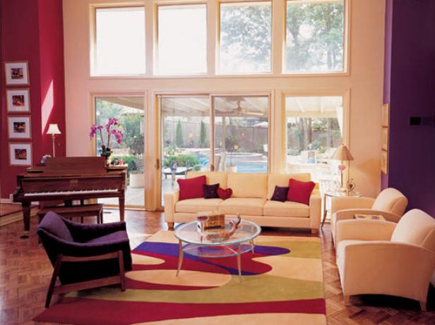 Which colors show your home wider?