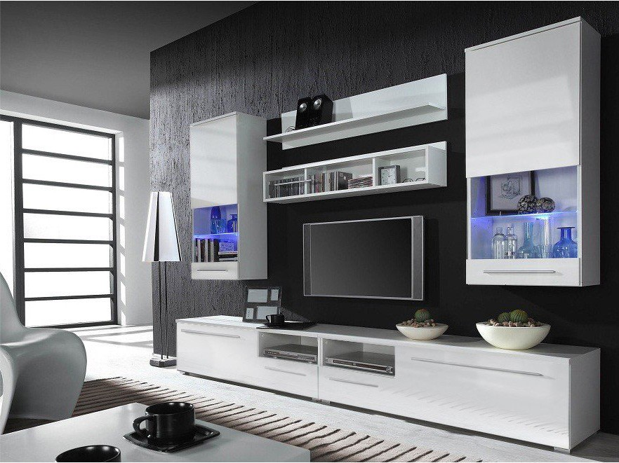 Modern Wall Units hints for modern and stylish tv wall units - obfuscata