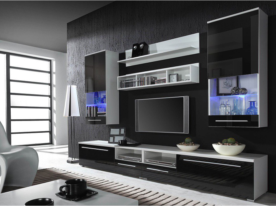 hints for modern and stylish tv wall units obfuscata