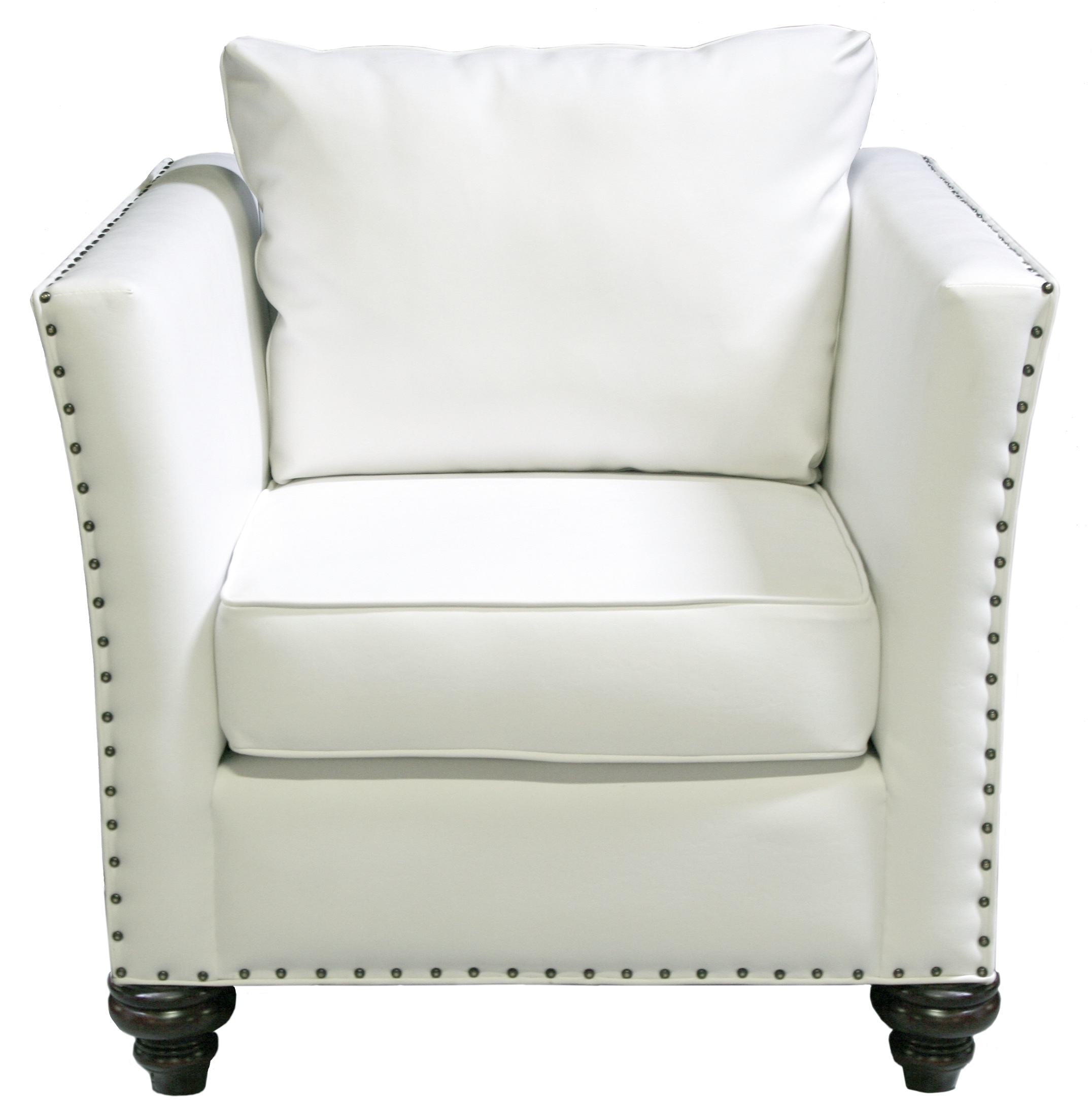 Usage of White Leather Armchair