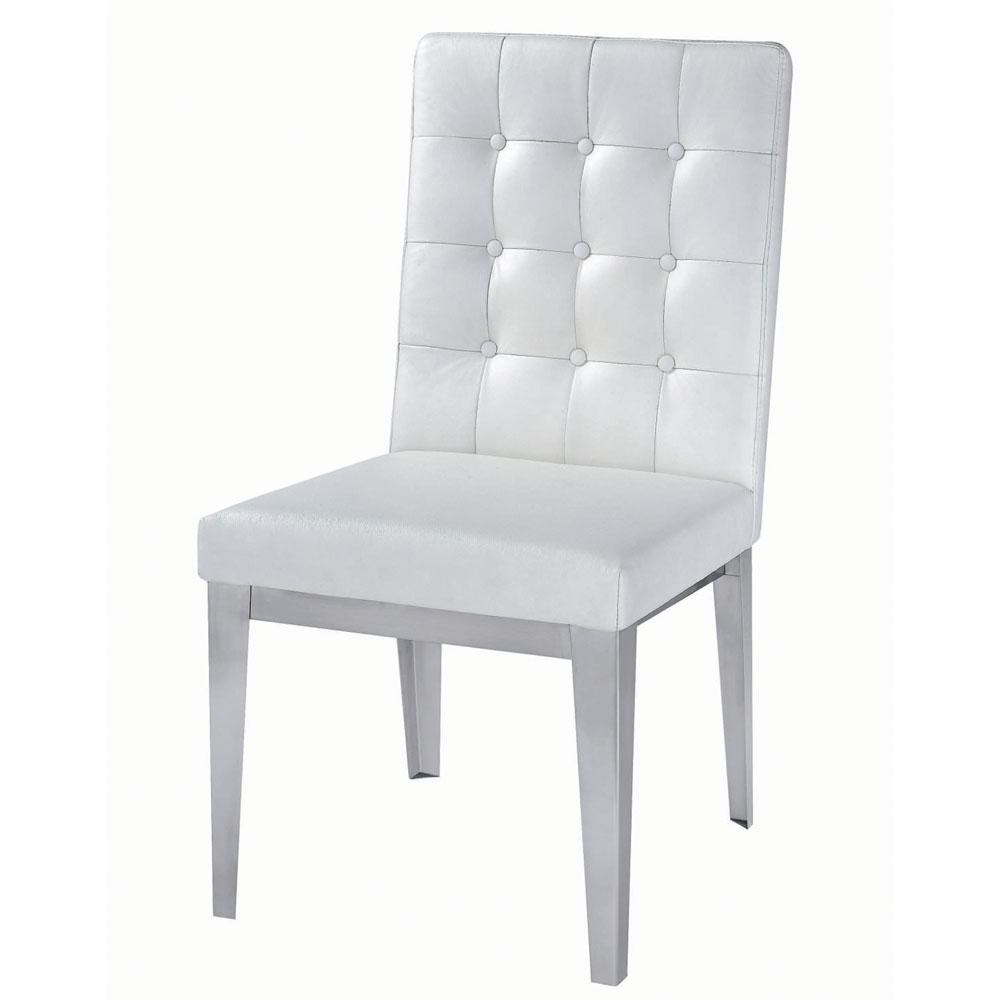 White Leather Sofa And Chair: Usage Of White Leather Armchair
