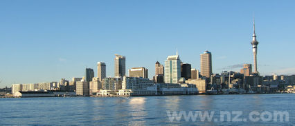 A Beautiful City in New Zealand: Auckland