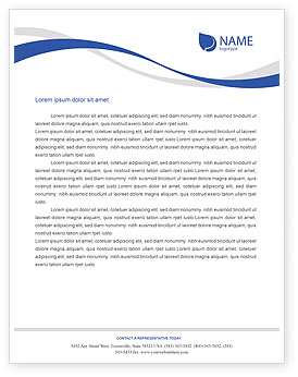 sample letter head template