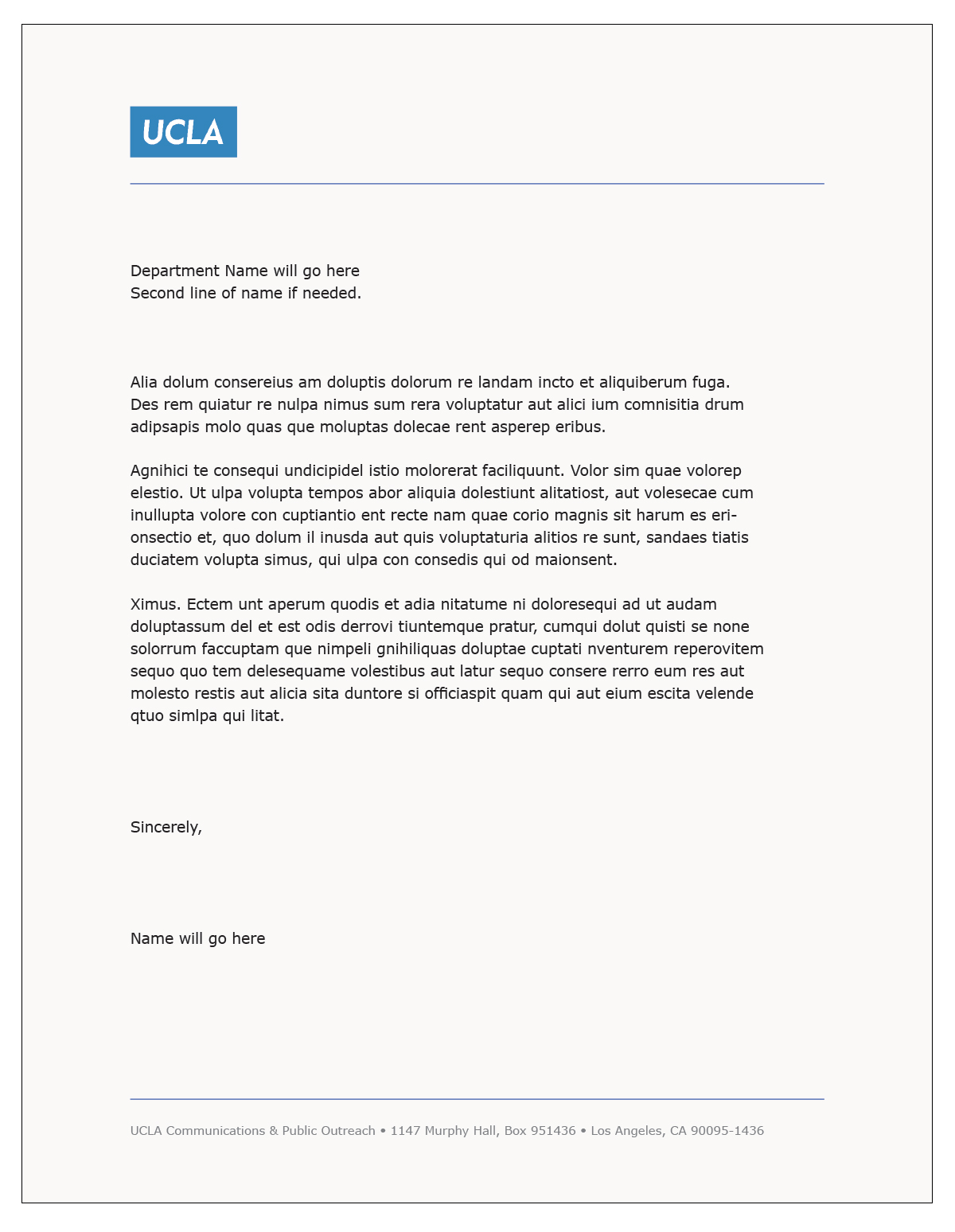 letterhead template word - Cover Letter Template Word