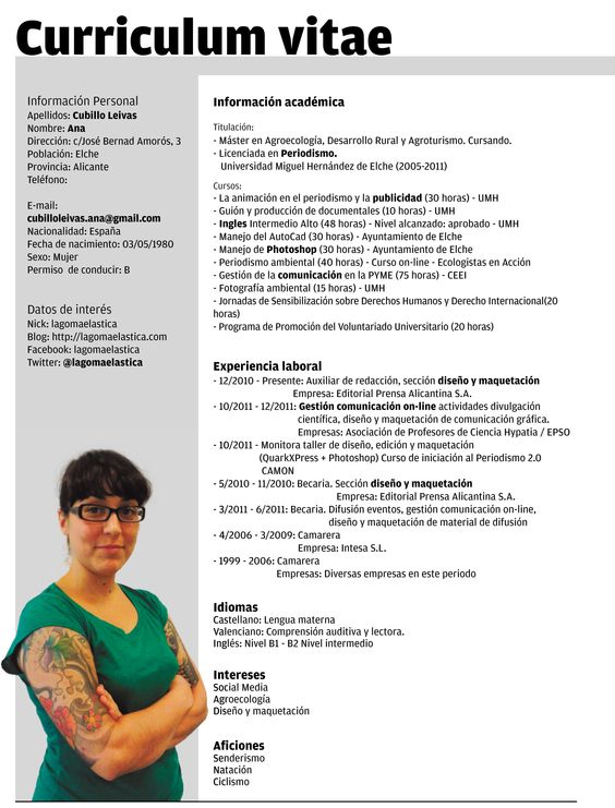 Tips to make your Curriculum Vitae impressive