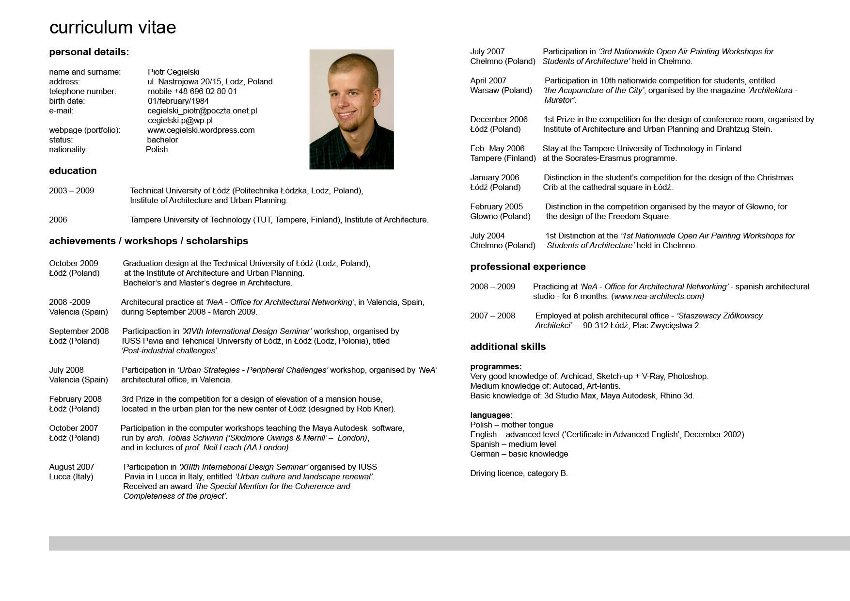 Moderno Curriculum Vitae Desarrollador Indio Java Viñeta - Ejemplo ...