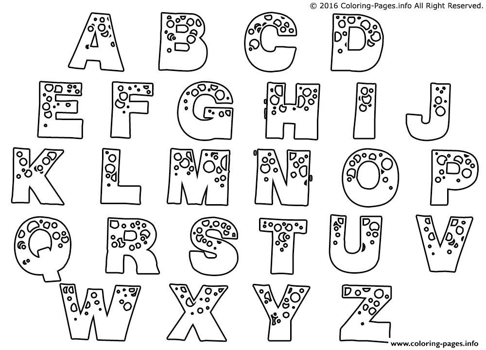 How can you draw bubble letters?