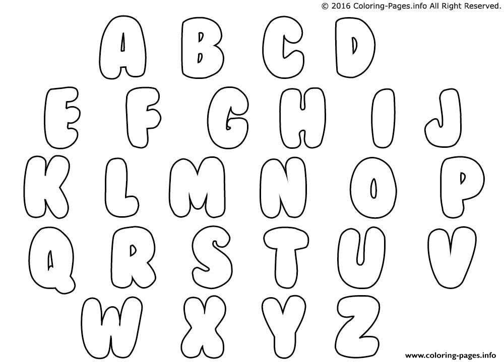 How Can You Draw Bubble Letters