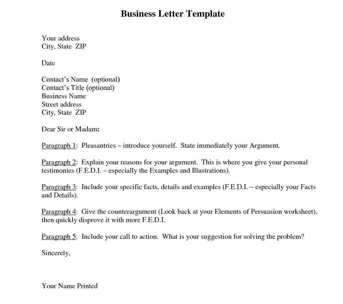 Business Letter Meeting Request Business Letter With
