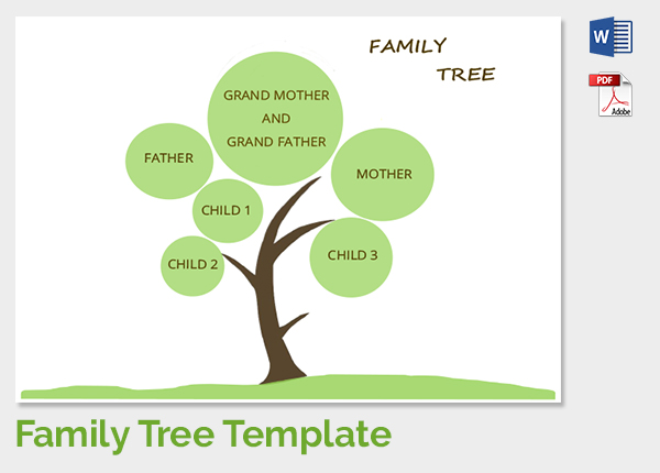 Where can you find a printable family tree template?