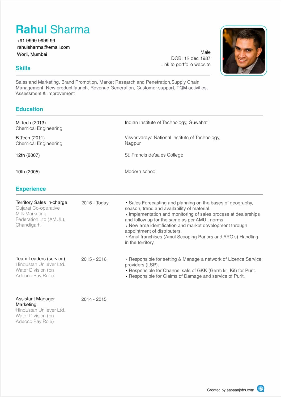 how to write the best resume format