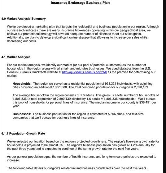 Insurance Brokerage Excerpt