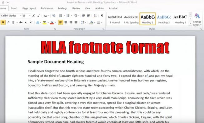 mla essay format footnotes Mla style guide – quick & easy by eric garcia  modern language association  the art of the personal essay:.