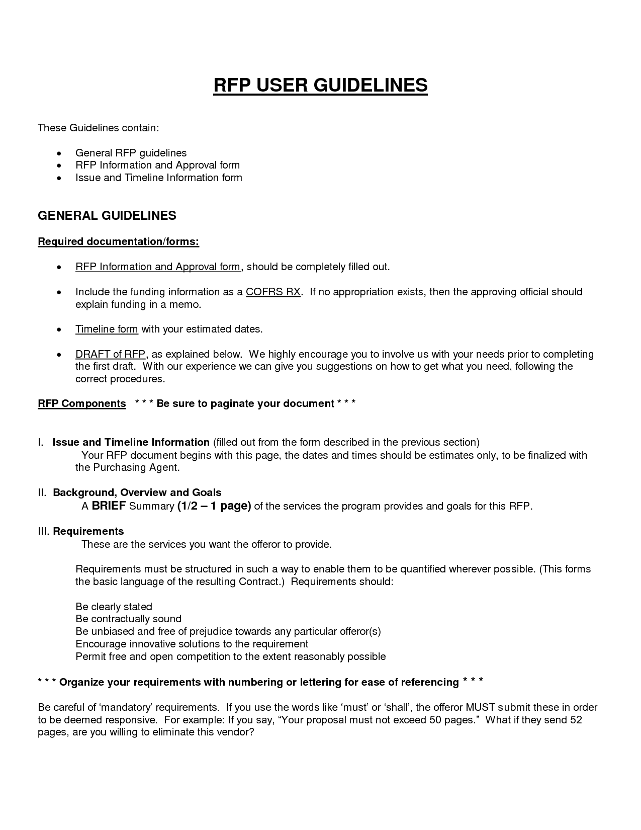 Doc585650 Generic Business Proposal Template Sample Generic – Business Proposal Template Sample