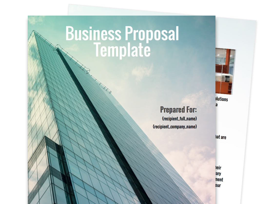 business proposal templates radiogomezonetk