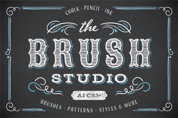 What's the use of a Chalkboard Font in designs?