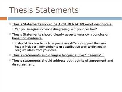 Thesis Statement What Is A Thesis Statement What Is A Thesis