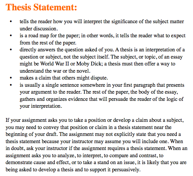 Thesis Statement Essay Help! 15 Thesis Statement Examples To Inspire Your  Next