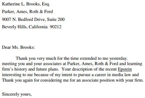 follow up email after interview5