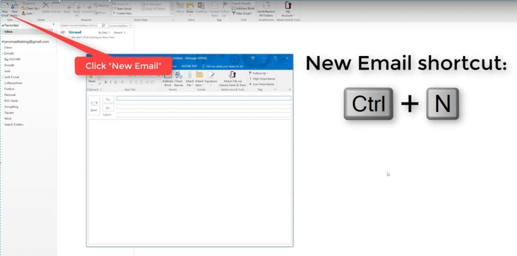 how to create an email template in outlook-step-4