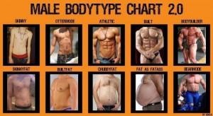 Ideal male body type