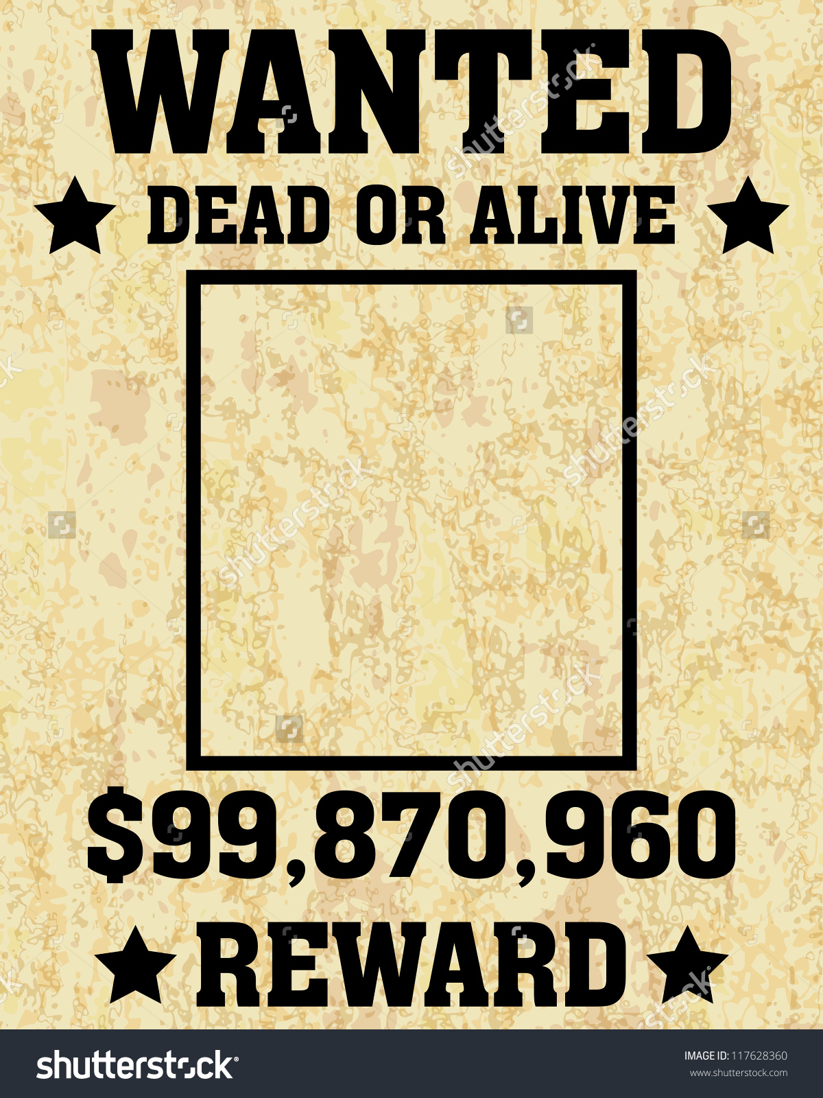 wanted poster example - shefftunes.tk