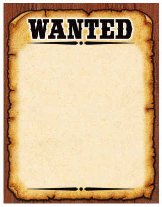 What S The Simplest Way Of Fashioning A Wanted Poster