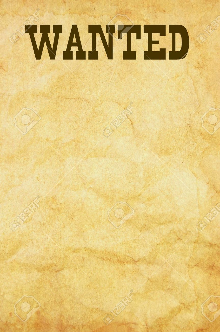What s the simplest way of fashioning a wanted poster for Free wanted poster template