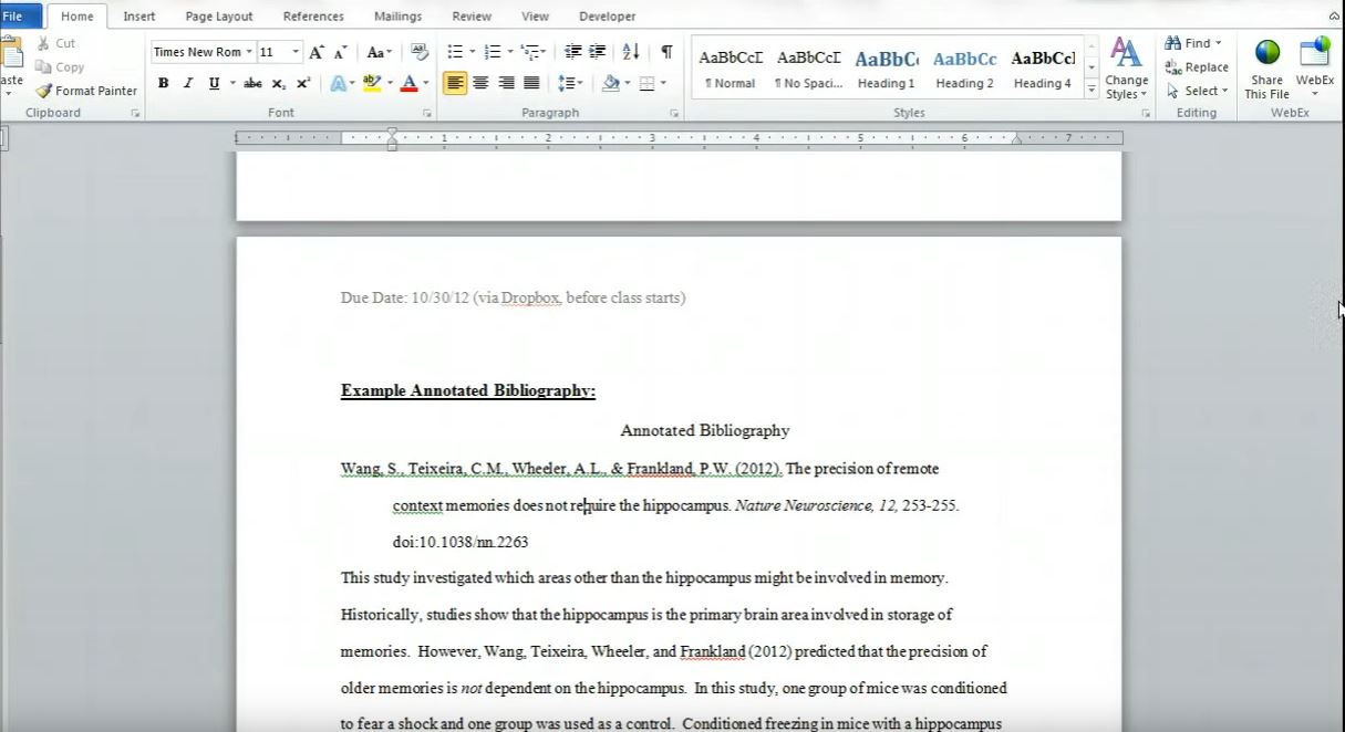 Annotated bibliography buy