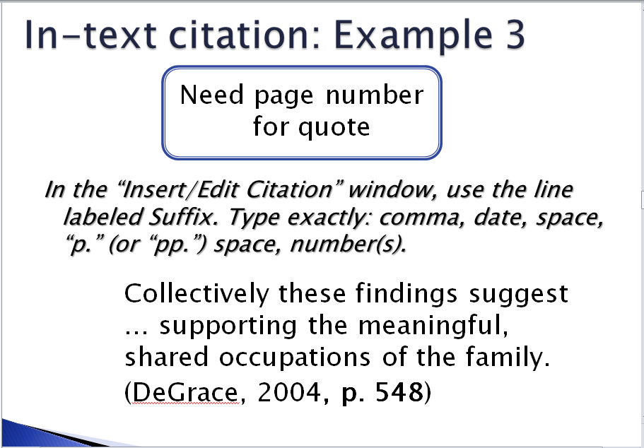 apa formatting in text citation Learn how to use in-text citations in apa format, including what to do when there is no author or publication date.