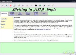 apa writing style