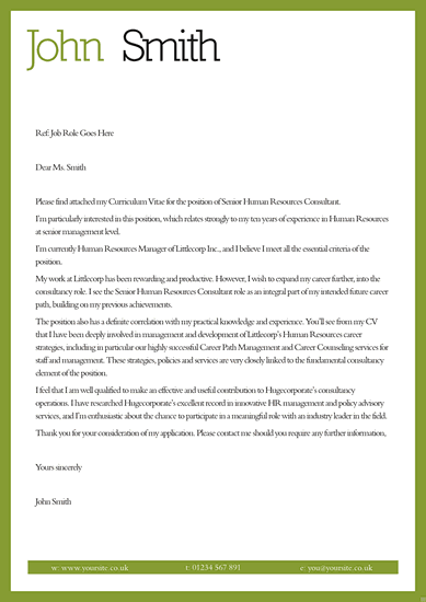 basic cover letter for a resume obfuscata - Templates For Cover Letters