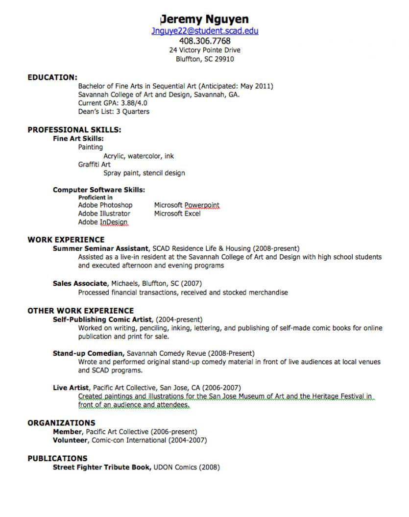 How To Create A Resume Obfuscata