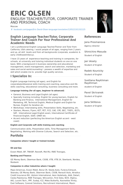 resume english examples resume soft skills example