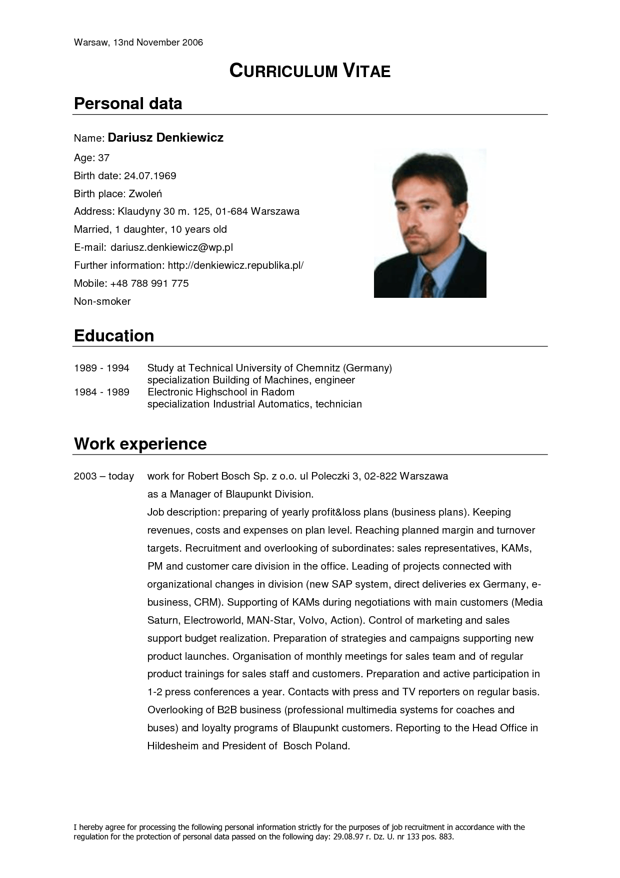 resume format 2015 latest shamsuddin bin abdullah no 102 jalan resume format english - Sample Resume In English