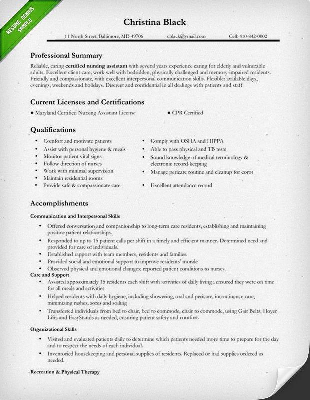 resume for nurses sample - Nurse Sample Resume