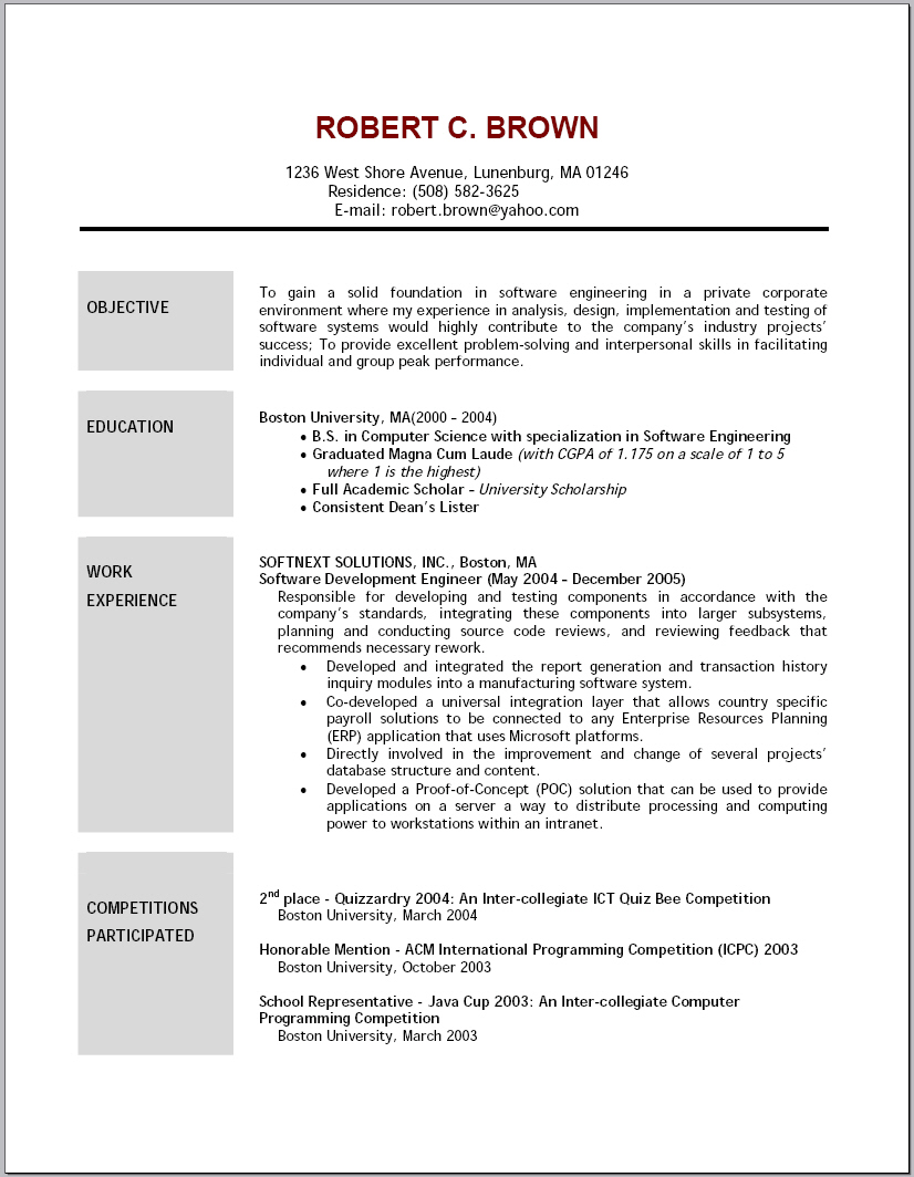 Sample Objective Statements For Resume Objective Statement For Your Resume  Professional Resume Objective Example Happytom
