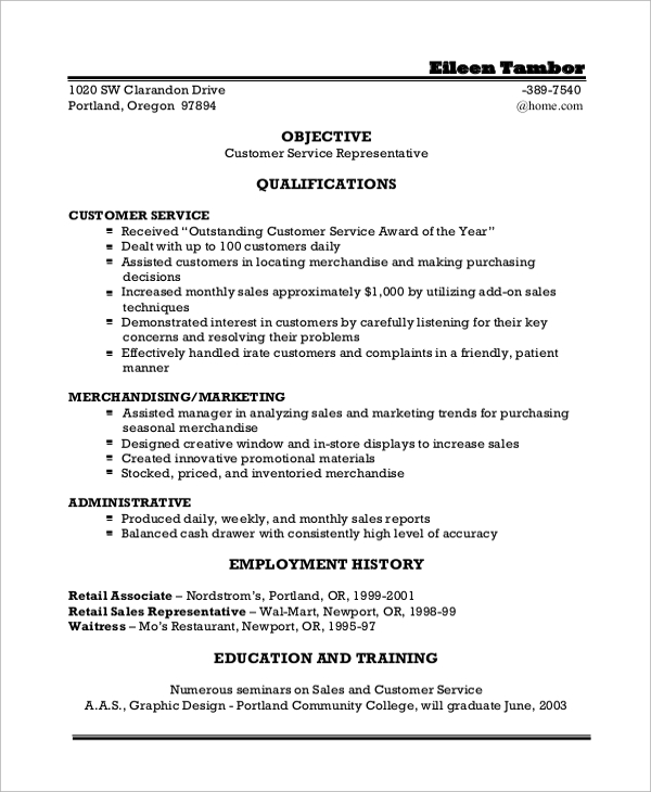 Sample Objective Statements On Resumes  Objective Statement For A Resume