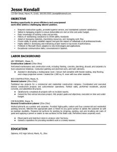write a good resume objective statement