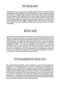 resume summary