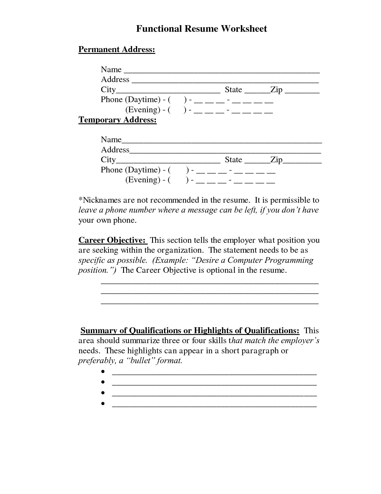 summary resume examples - Examples Of Summary For Resume
