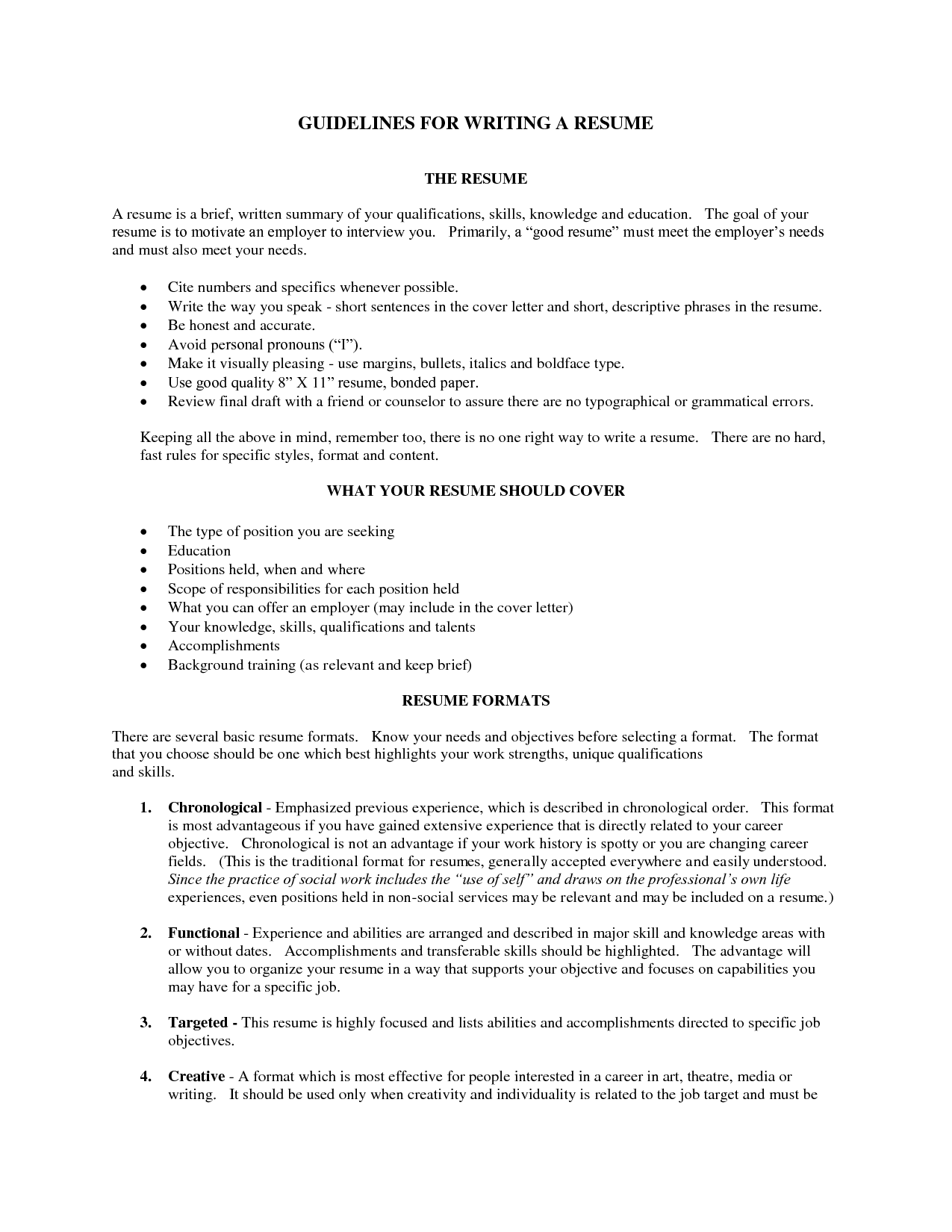 how to write a good cv cover letter