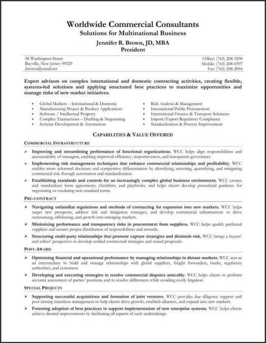 resume summary - Examples Of Summary For Resume