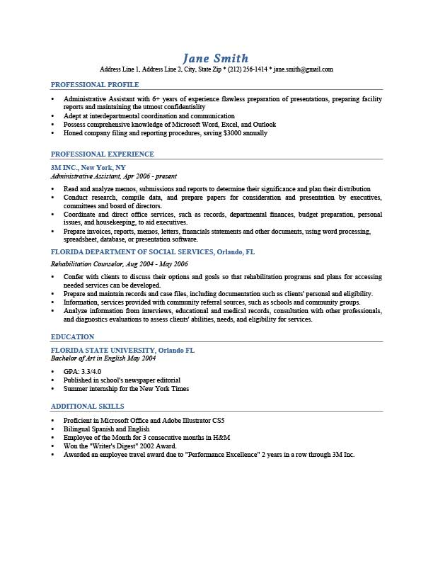 admin in template how to create a resume by admin in template resume