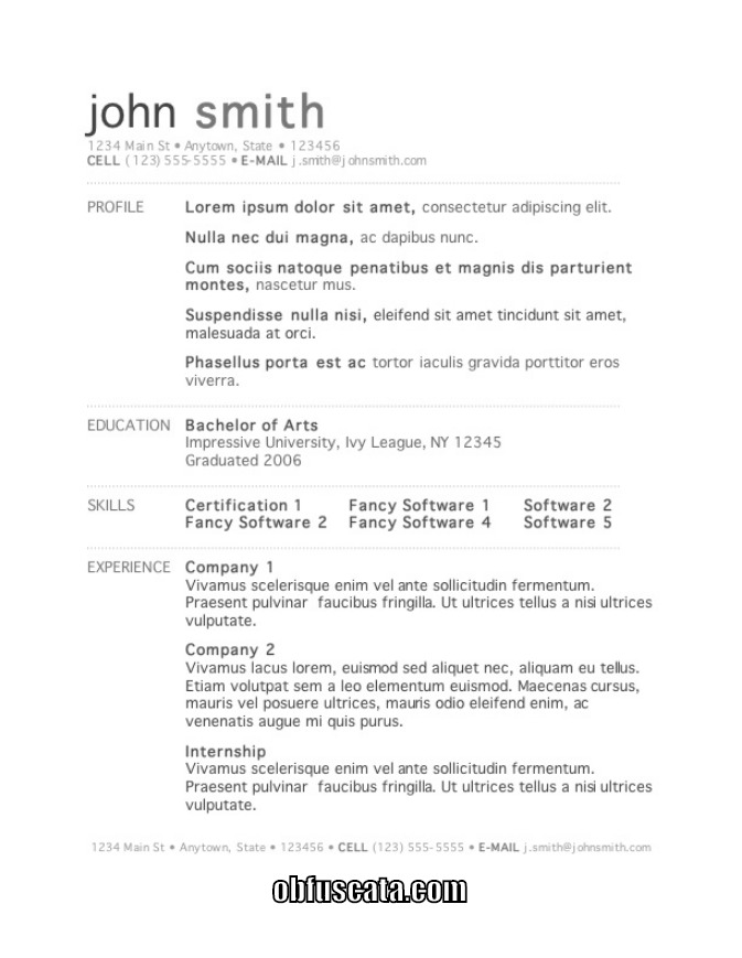 what is a good resume template fast lunchrock co