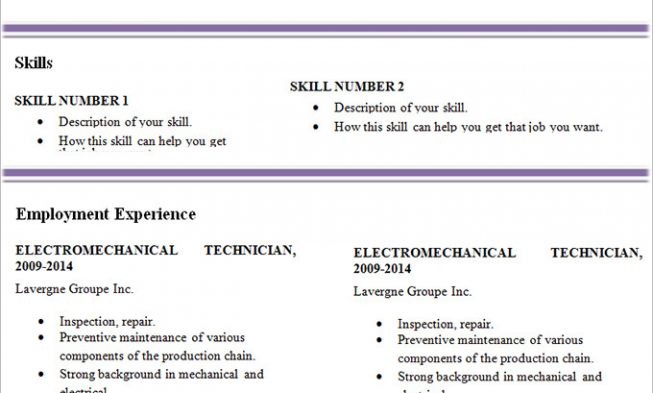 Resume Templates, Cover Letter