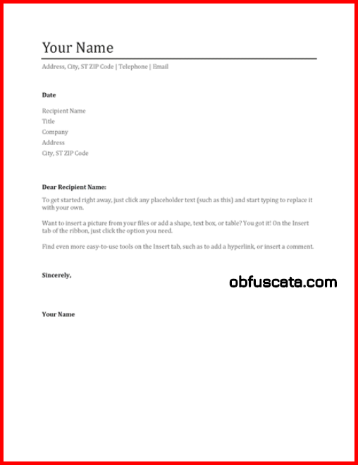 cover letter from hell